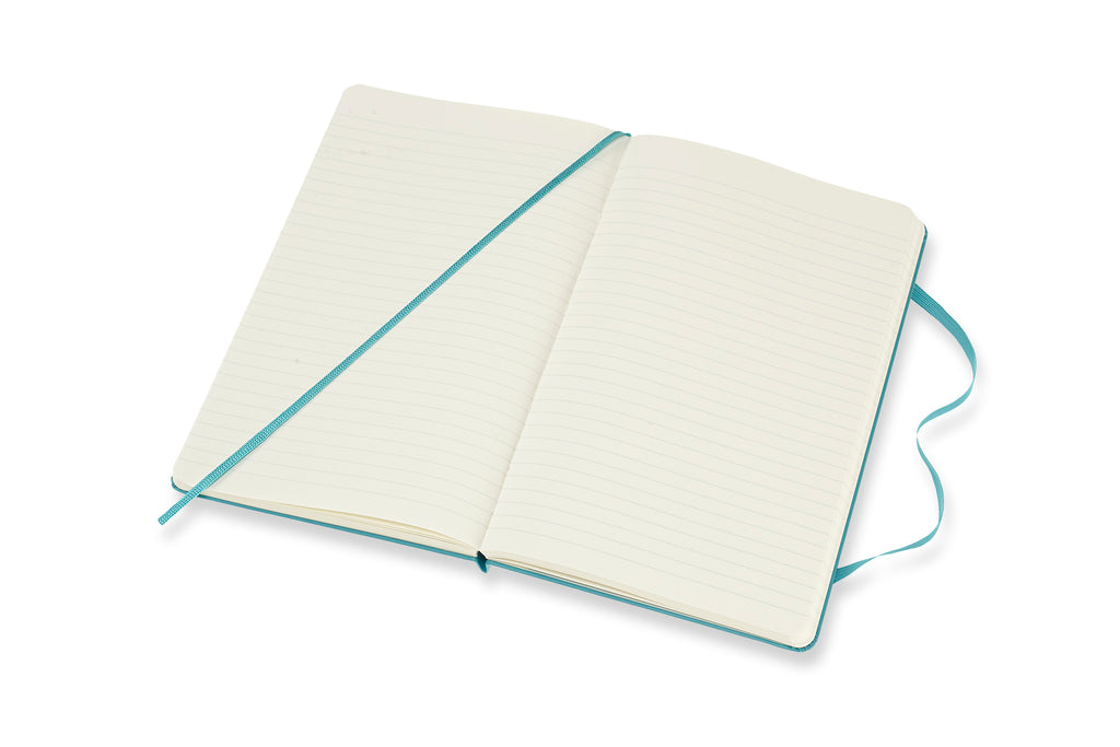 Moleskine Softcover Notebook - Reef Blue-Notebooks-JB Custom Journals