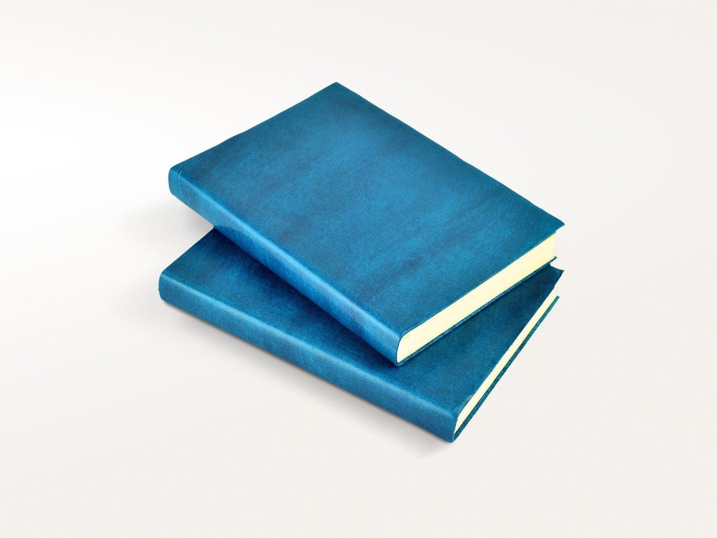 Harborview Leather Journal - Azure-Notebooks-JB Custom Journals