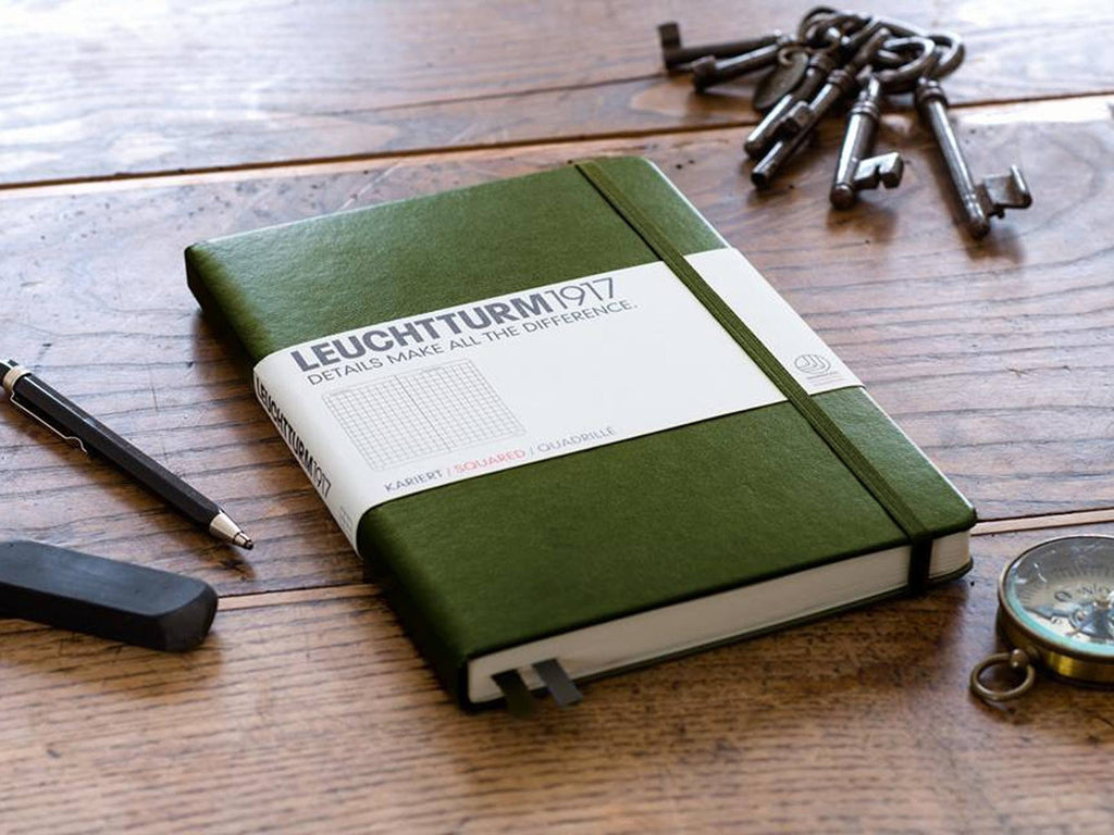 Leuchtturm 1917 Hardcover Notebook - Army-Notebooks-JB Custom Journals