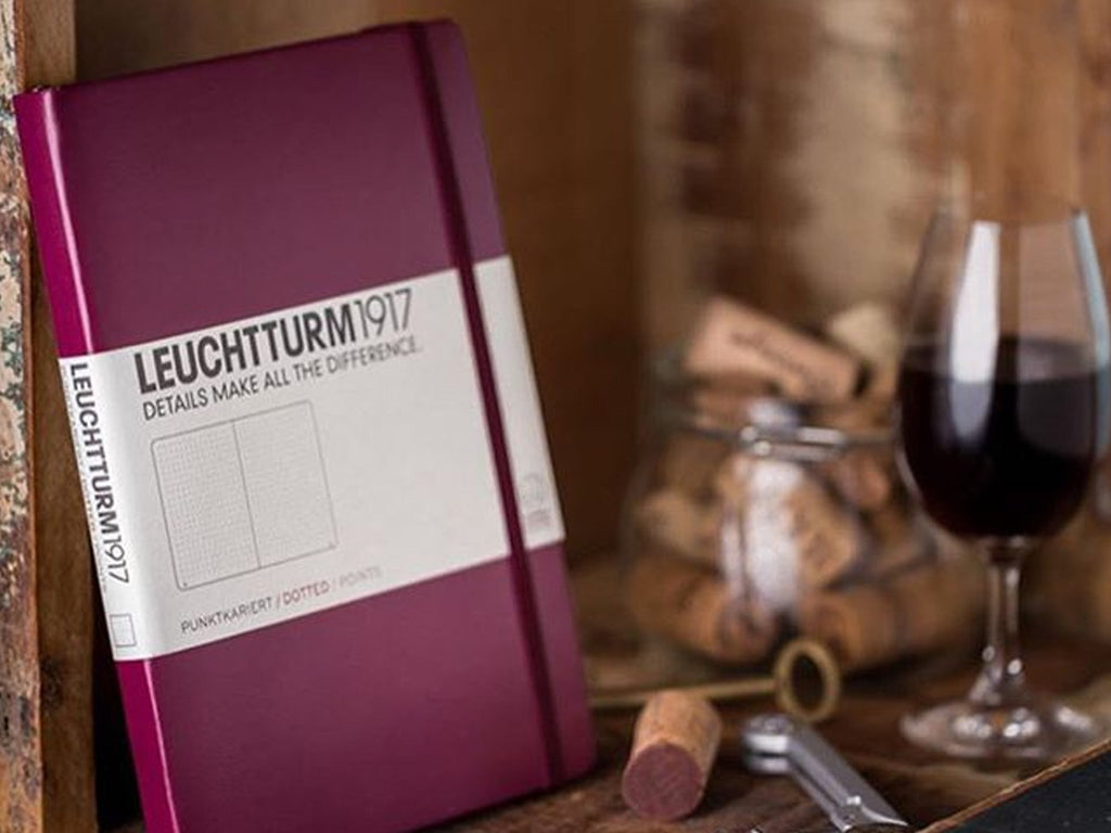 Leuchtturm 1917 Hardcover Notebook - Port Red *NEW*
