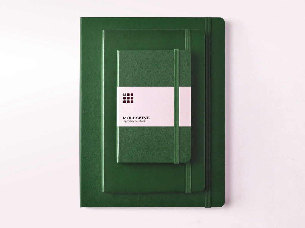 Moleskine Classic Hardcover Notebook - Myrtle Green