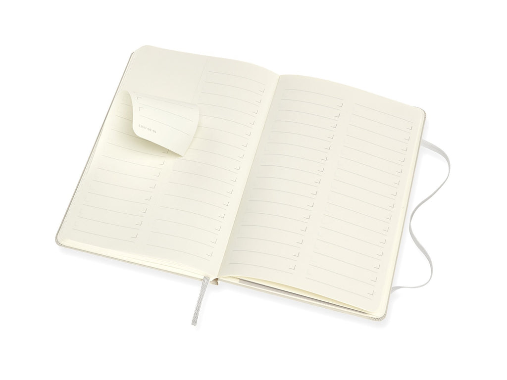 Moleskine PRO Hardcover Notebook - Pearl Grey
