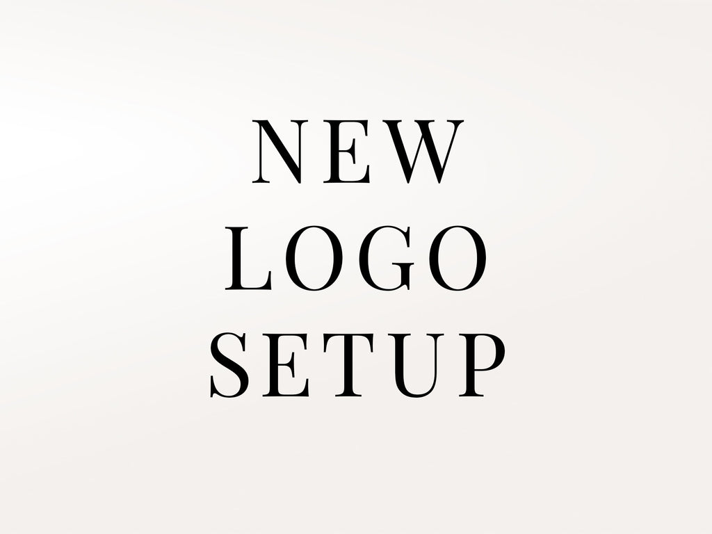 New Logo Upload / Setup