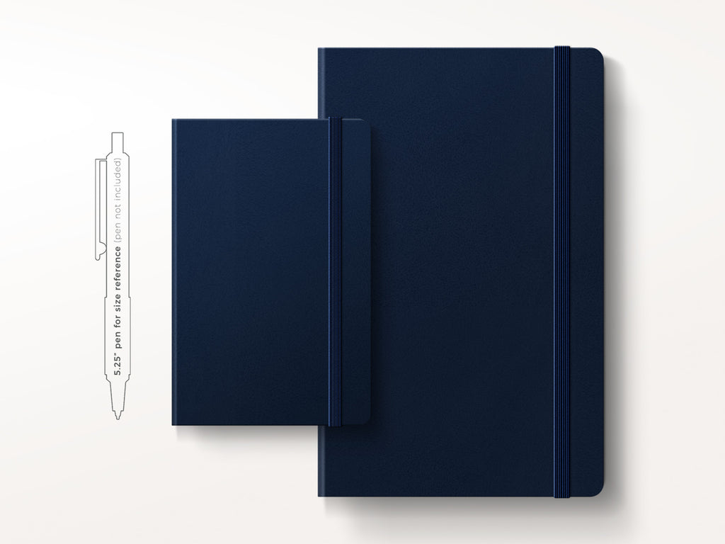 Moleskine Classic Hardcover Notebook - Prussian Blue-Notebooks-JB Custom Journals