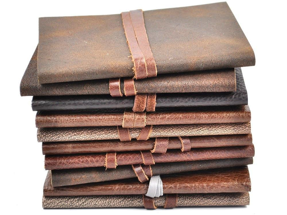 Slim Flexi Leather Pocket Journal