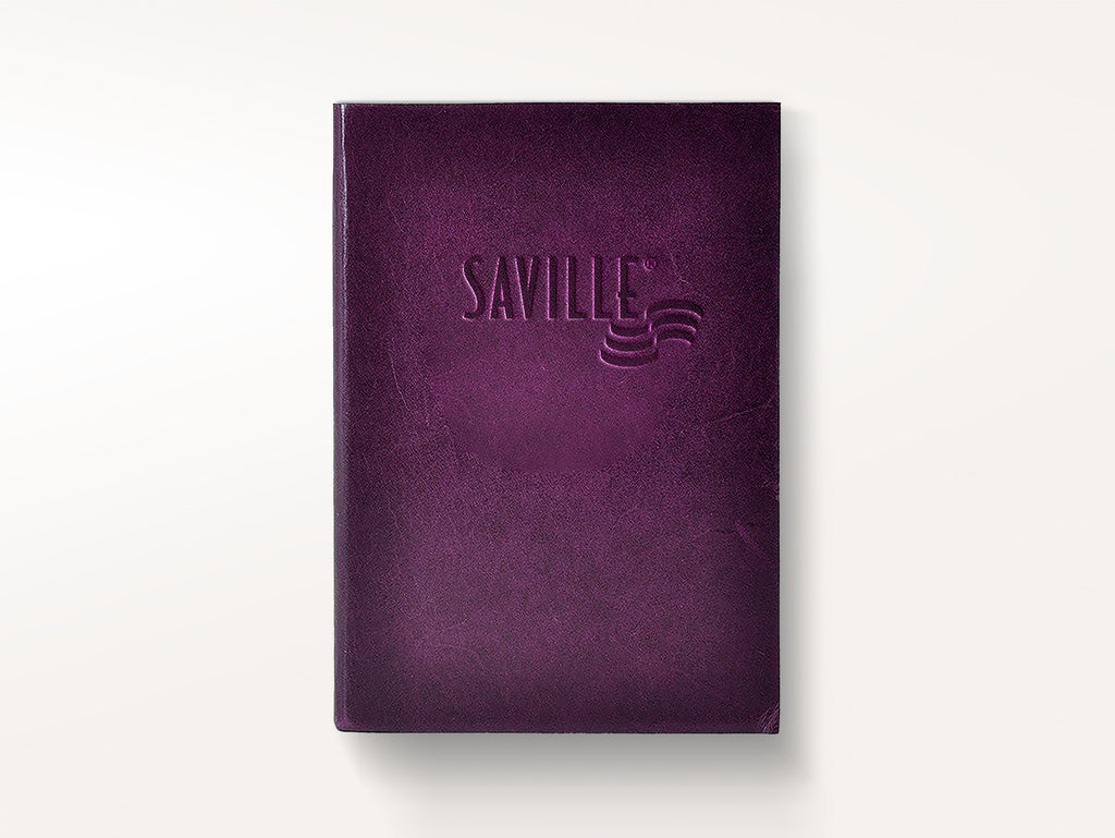 Harborview Leather Journal - Violet-Notebooks-JB Custom Journals