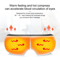 Warm compress for eye and headache relief alleviates stress and soothes the muscles