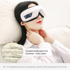 Your favorite tunes while you enjoy some you time with the relaxing eye massager