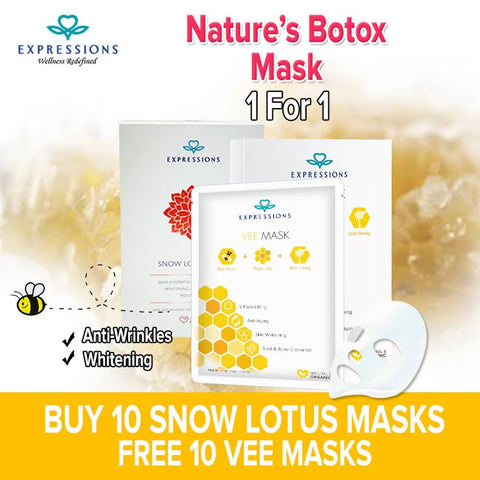 BUY 10 snow mask FREE 10 Vee Mask