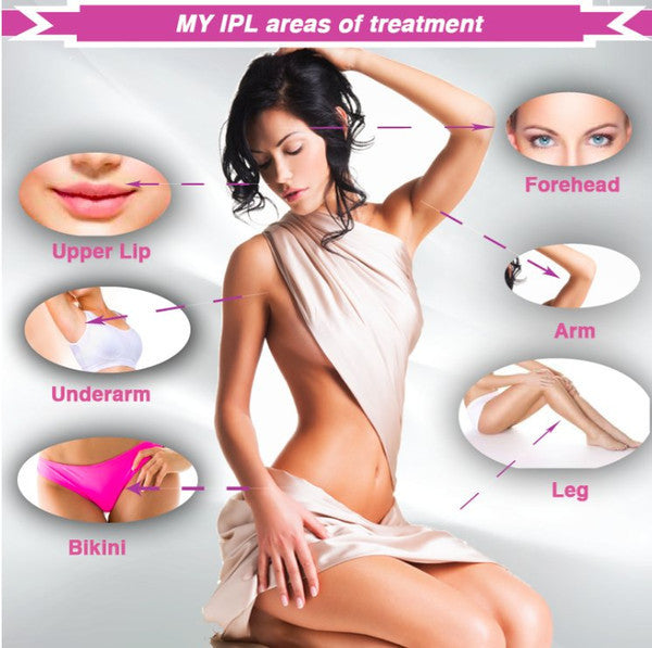 MyIPL 350,000 shots | Hair removal, Skin Rejuvenation, Acne Clearance