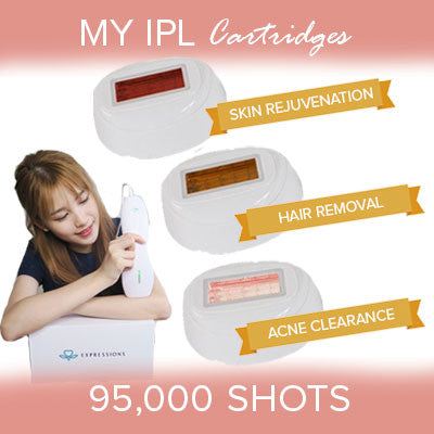 My IPL Refill Cartridges - Hair Removal, Skin Rejuvenation, Acne Clearance