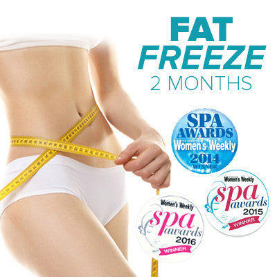Award Winning 2-month Fat Freeze Slimming Treatment (Worth$8900) | Lady Women Slimming