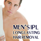 Men's IPL Permanent Hair Removal