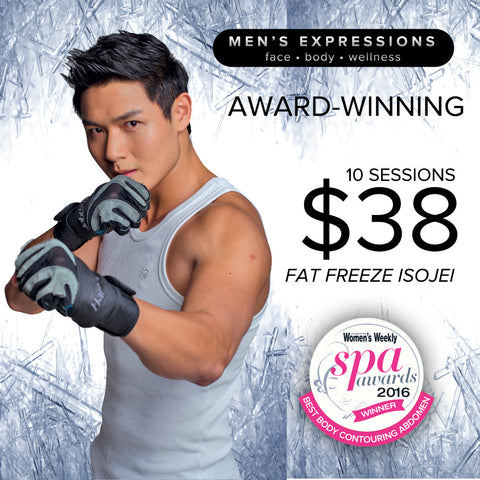 Men's Expressions Award Slimming Treatment Voucher