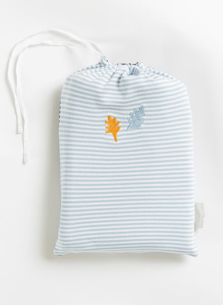Baby Wraps - 2 Pack Navy & Sky