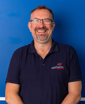Andy Hooper, Managing Director. Unitherm