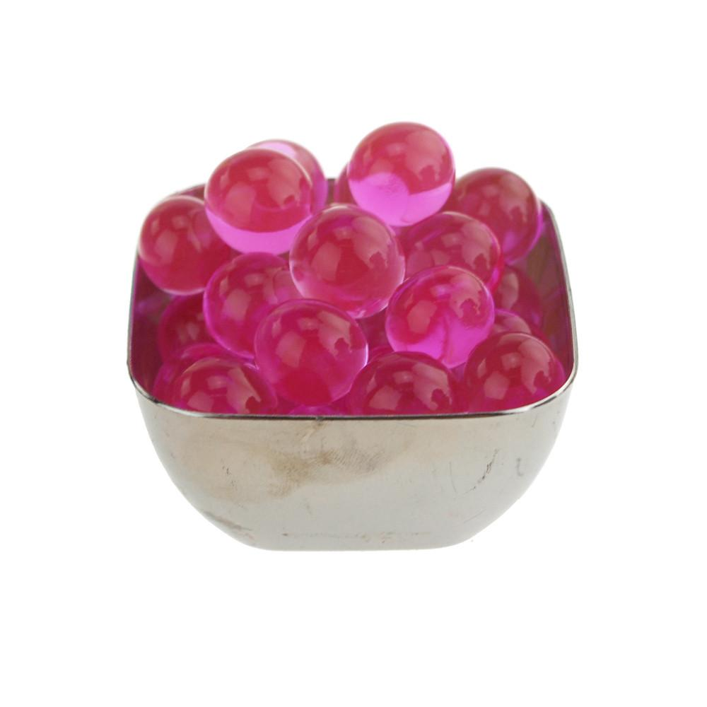 Water Beads Jelly Balls Vase Filler, Large, 10-Gram, Pink