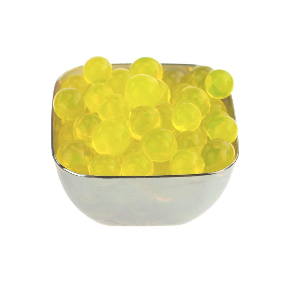 Water Beads Jelly Balls Vase Filler, Large, 10-Gram, Yellow