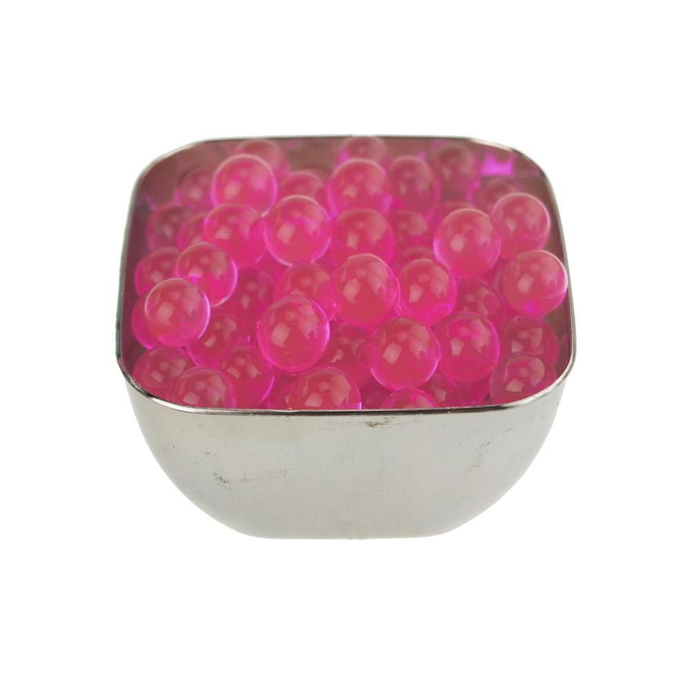 Water Beads Jelly Balls Vase Filler, Small, 10-Gram, Pink