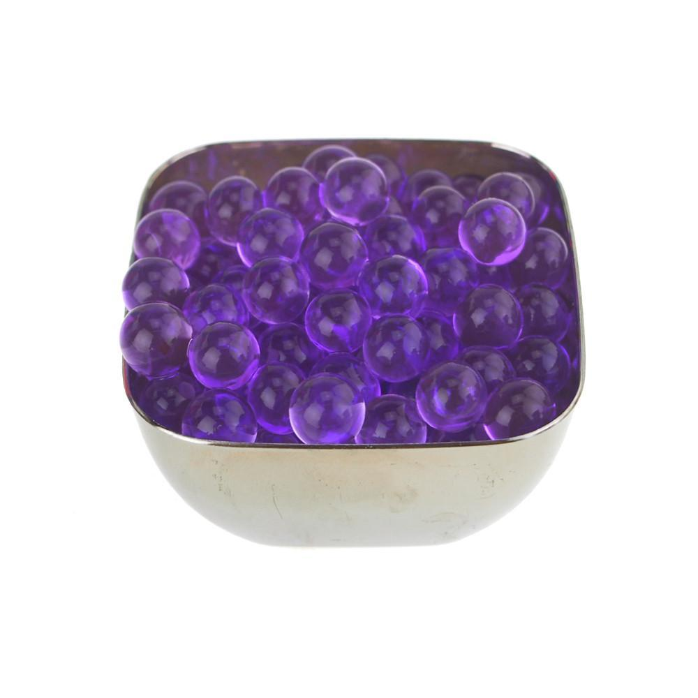 Water Beads Jelly Balls Vase Filler, Small, 10-Gram, Purple