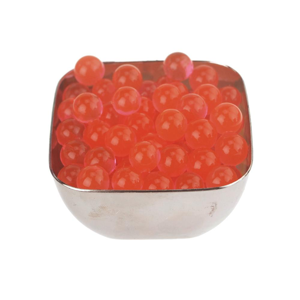 Water Beads Jelly Balls Vase Filler, Small, 10-Gram, Red