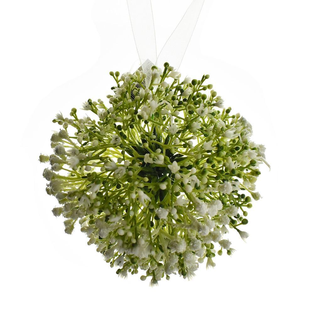 Artificial Serissa Kissing Ball, 5-1/2-Inch