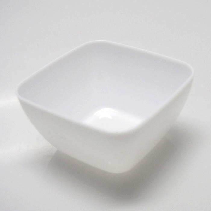 Plastic Mini Dessert Bowl Appetizers, 18-Piece, White