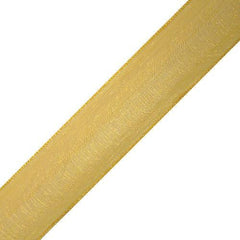 Sheer Wired Glossy Ribbon, 1-1/2-inch, 25-yard