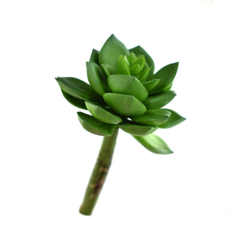 Artificial Wax Agave Succulent Stem, Green, 5-1/2-Inch