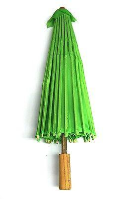 Paper Craft Umbrella with Bamboo Handle, 18-inch