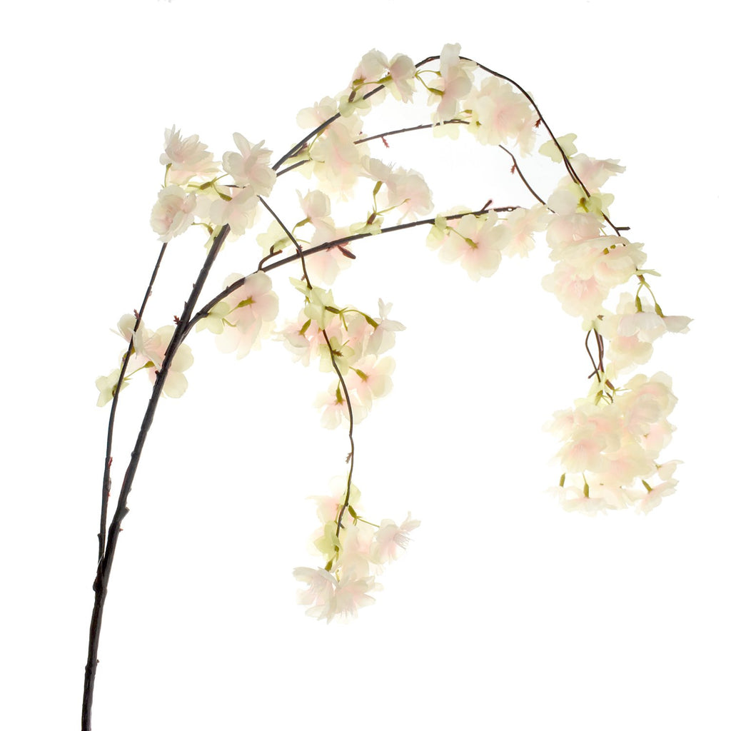Artificial Cherry Blossom Spray, 58-Inch, Pink