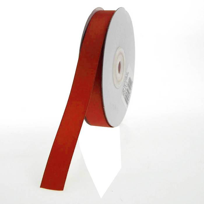 Double Faced Satin Ribbon, 5/8-inch, 25-yard, Red