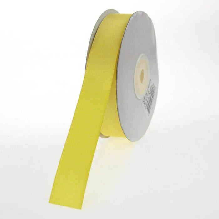 Double Faced Satin Ribbon, 7/8-inch, 25-yard, Yellow