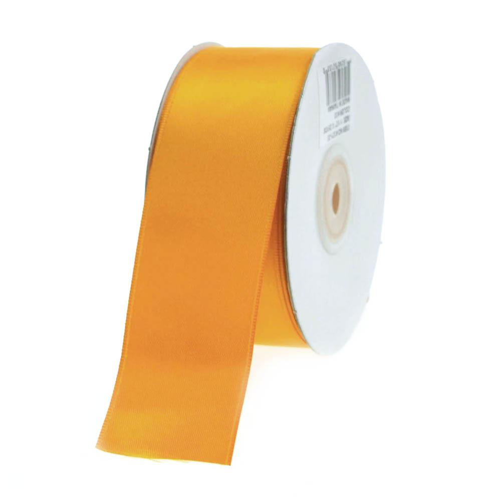 Double Faced Satin Ribbon, 1-1/2-inch, 25-yard, Orange