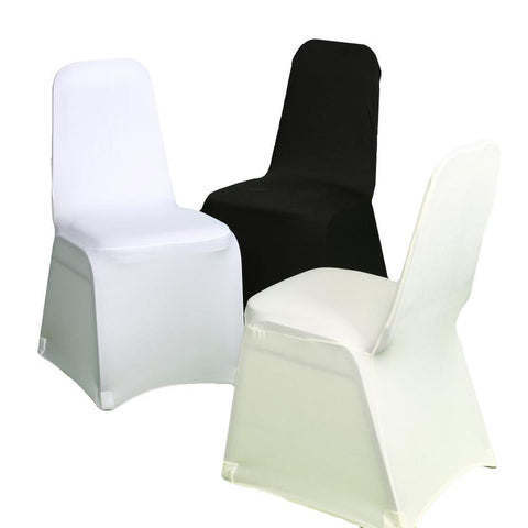 Ivory Spandex Party Event Banquet Chair Cover