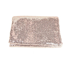 Round Sequin Tablecloth Cover, 118-Inch