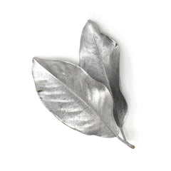 Natural Painted Magnolia Leaves, 10-Piece