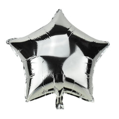 Star Shape Metallic Foil Balloon, 20-Inch