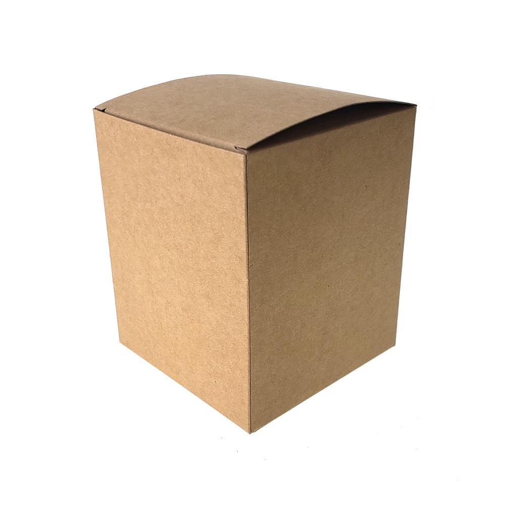 Rectangle Paper Gift Favor Boxes, 4-1/2-Inch, 12-Count, Natural