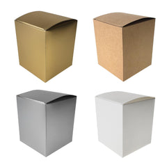 Rectangle Paper Gift Favor Boxes, 4-1/2-Inch, 12-Count