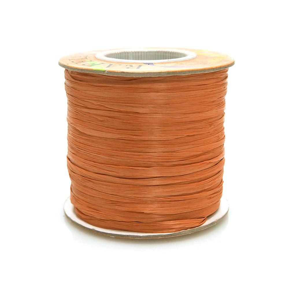 Matte Raffia Ribbon, 1/4-Inch, 100-Yard, Copper