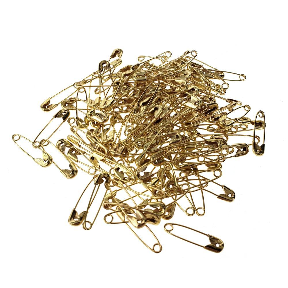 Metal Safety Pins, 3/4-Inch, 144-Count