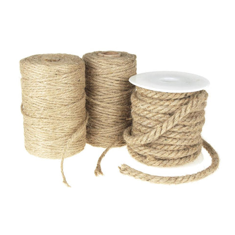 Burlap Jute Twine Rope, Natural