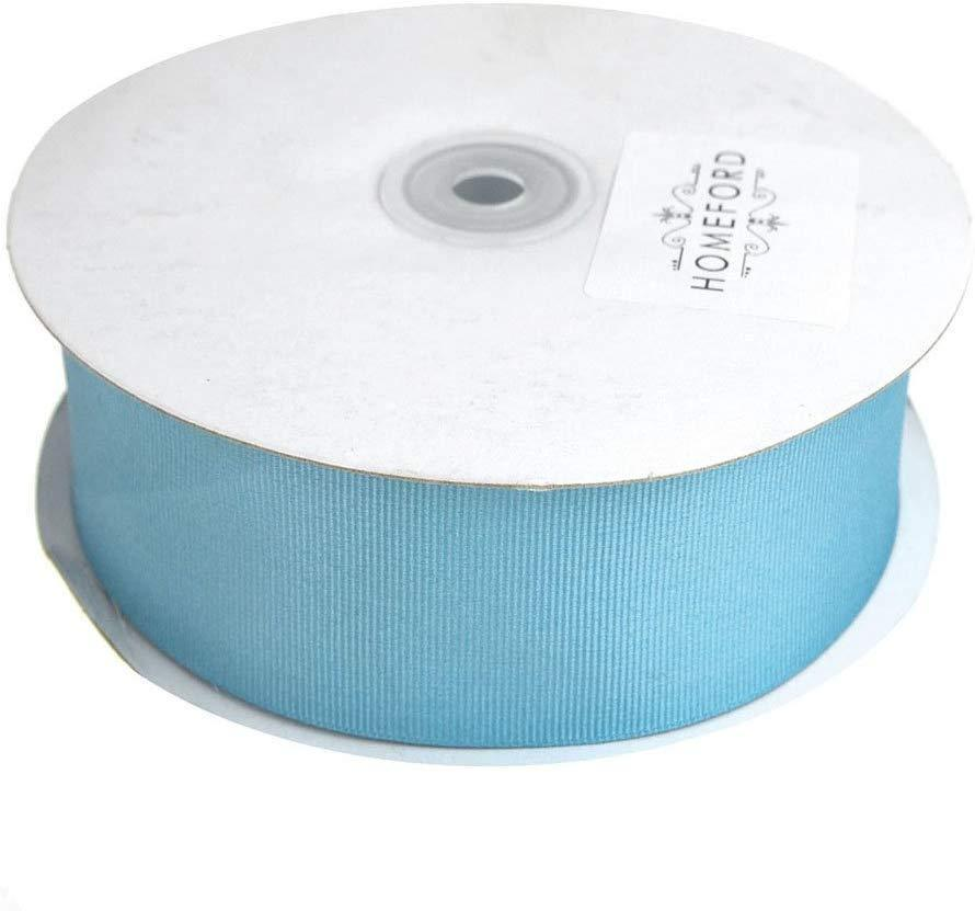 Solid Grosgrain Ribbon, 1-1/2-Inch, 50 Yards, Light Blue
