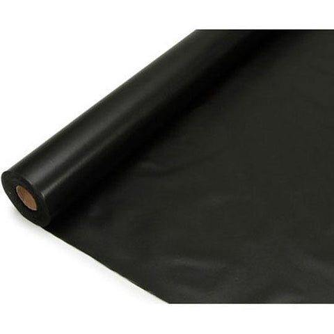 Banquet Plastic Table Roll, 40-Inch x 100-Feet, Black
