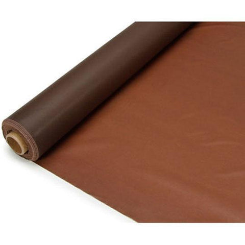 Banquet Plastic Table Roll Uncut, 40-Inch x 100-Feet, Brown