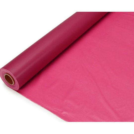 Banquet Plastic Table Roll, 40-Inch x 100-Feet, Fuchsia