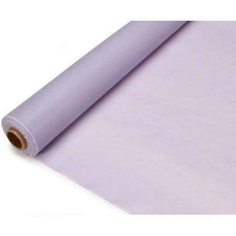 Banquet Plastic Table Roll Uncut, 40-inch x 100-feet, Lavender
