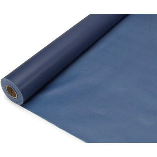 Banquet Plastic Table Roll Uncut, 40-Inch x 100-Feet, Navy Blue