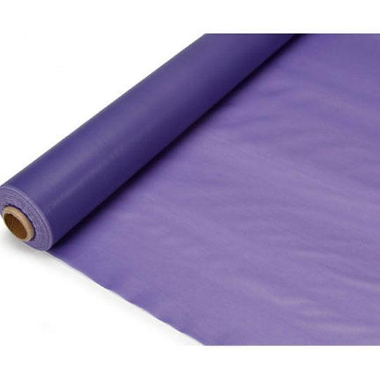 Banquet Plastic Table Roll Uncut, 40-inch x 100-feet, Purple